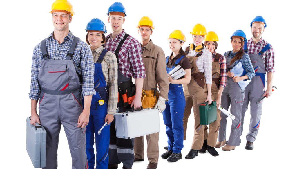 люди в рабочей одежде картинки